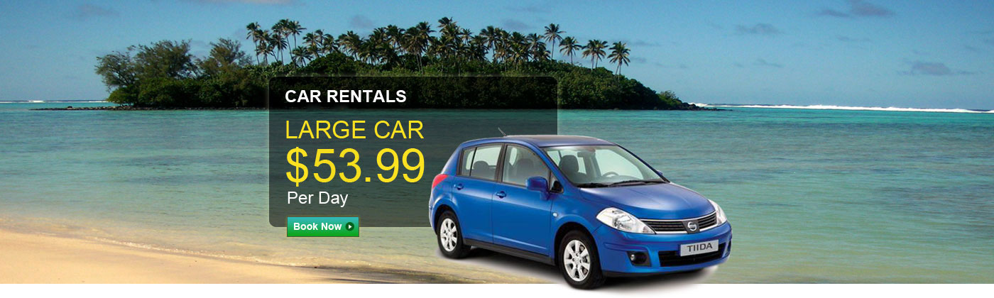 Rarotonga International Airport Car Hire