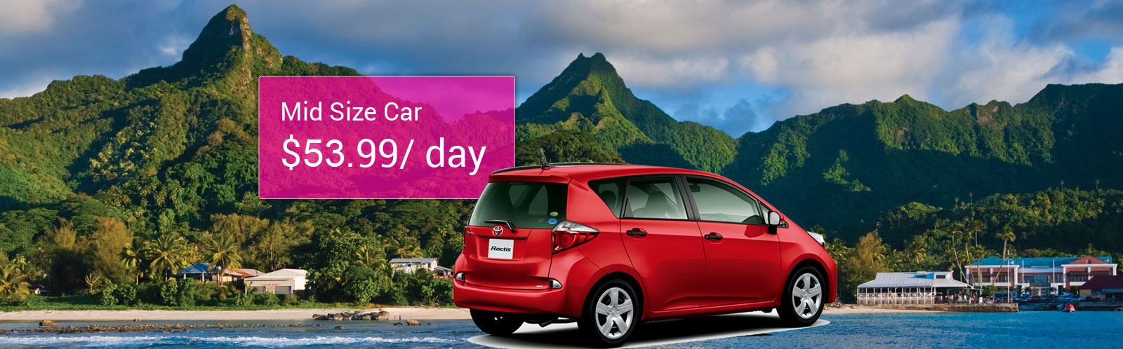 Budget Car Hire Cook Islands